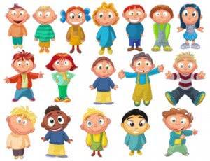 los-ninos-de-dibujos-animados-de-vectores_34-54374