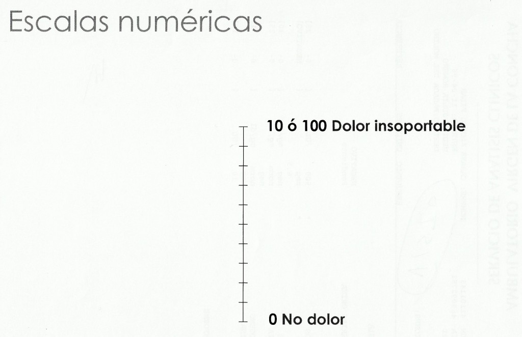 Escala numerica