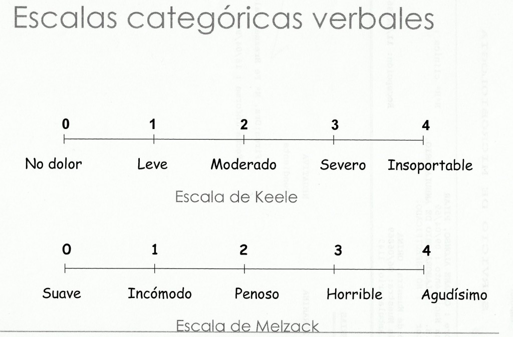 Escalas categóricas verbales
