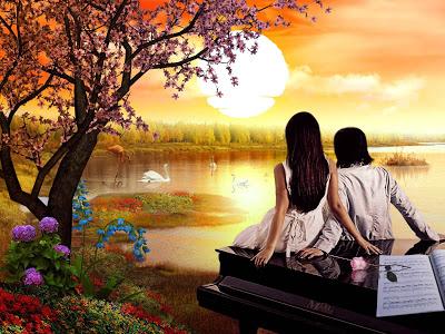 pareja-de-enamorados-en-el-lago_de-la_amistad-al-atardecer