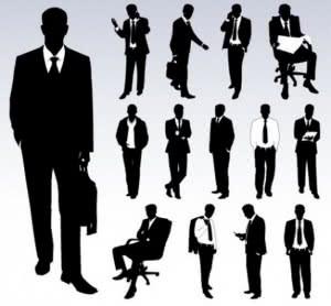 conjunto-de-vectores-de-siluetas-empresarios_279-9666