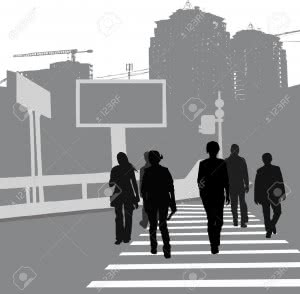 9548480-group-of-people-crossing-the-road-black-silhouettes